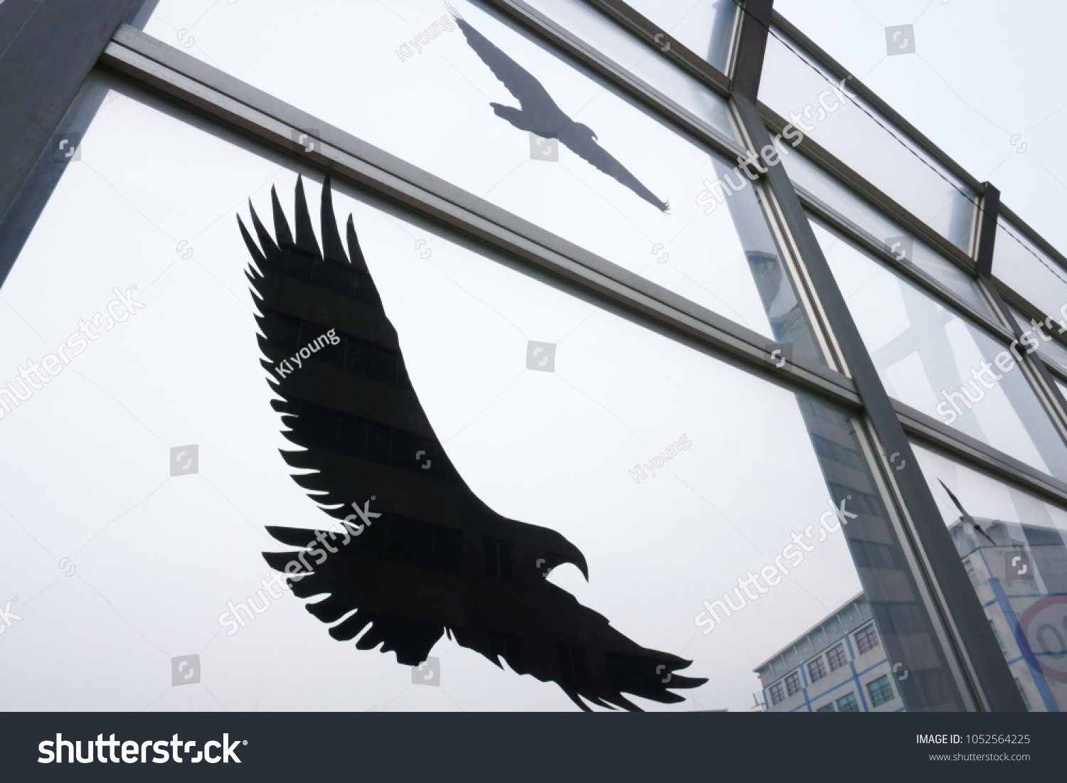 Se Anti-Collision Stickers to Prevent Persons or Birds Strikes on Window Glass