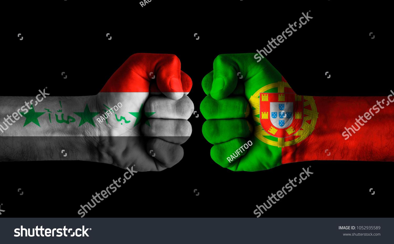 Iraq Vs Portugal Stock Photo (Edit Now) 1052935589