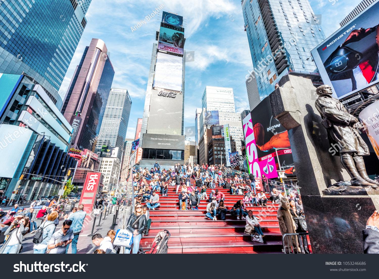 5476c76f11c5 New York City USA October 28 Stock Photo (Edit Now) 1053246686 ...