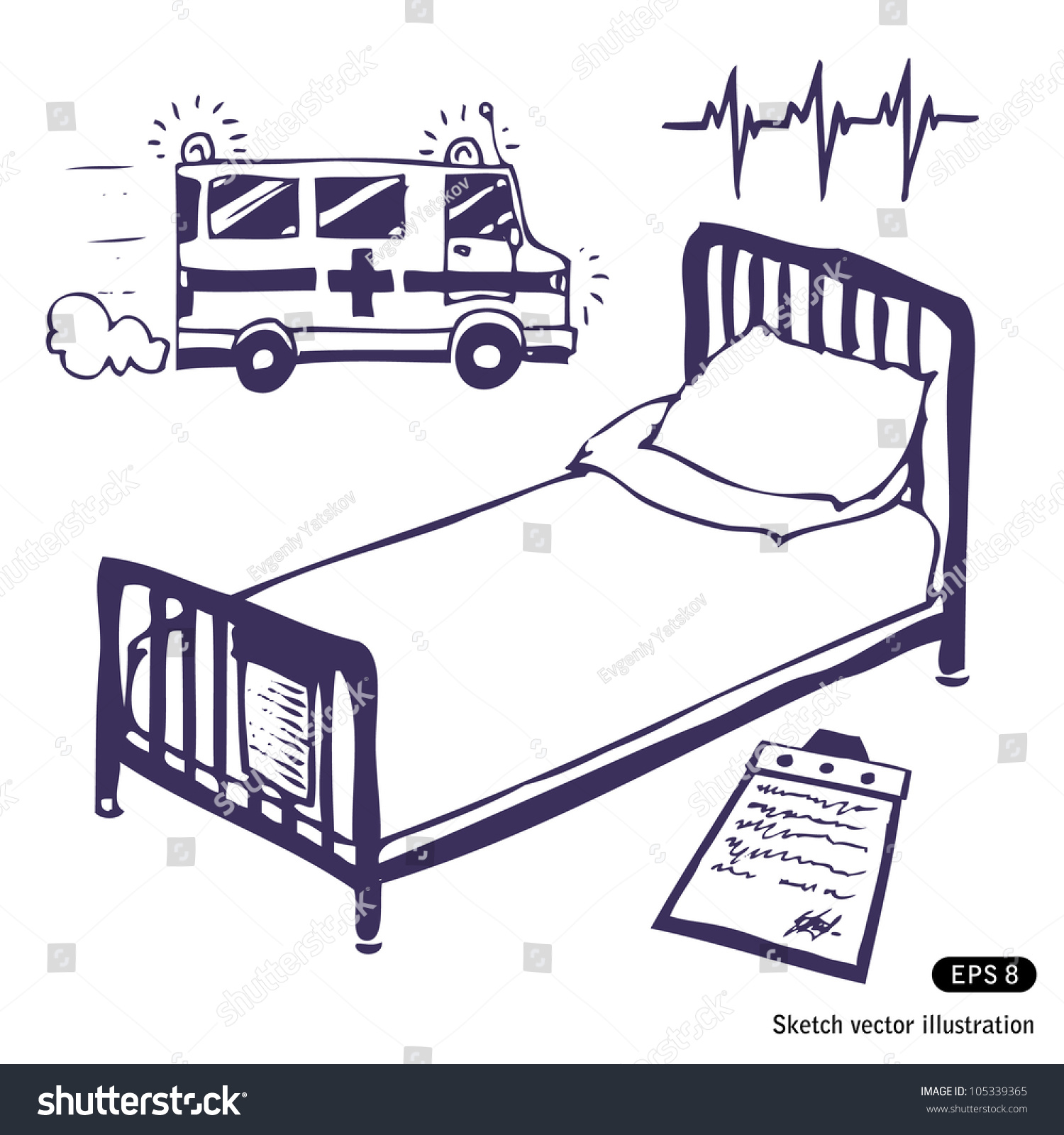 Shutterstock In Hospital Bed