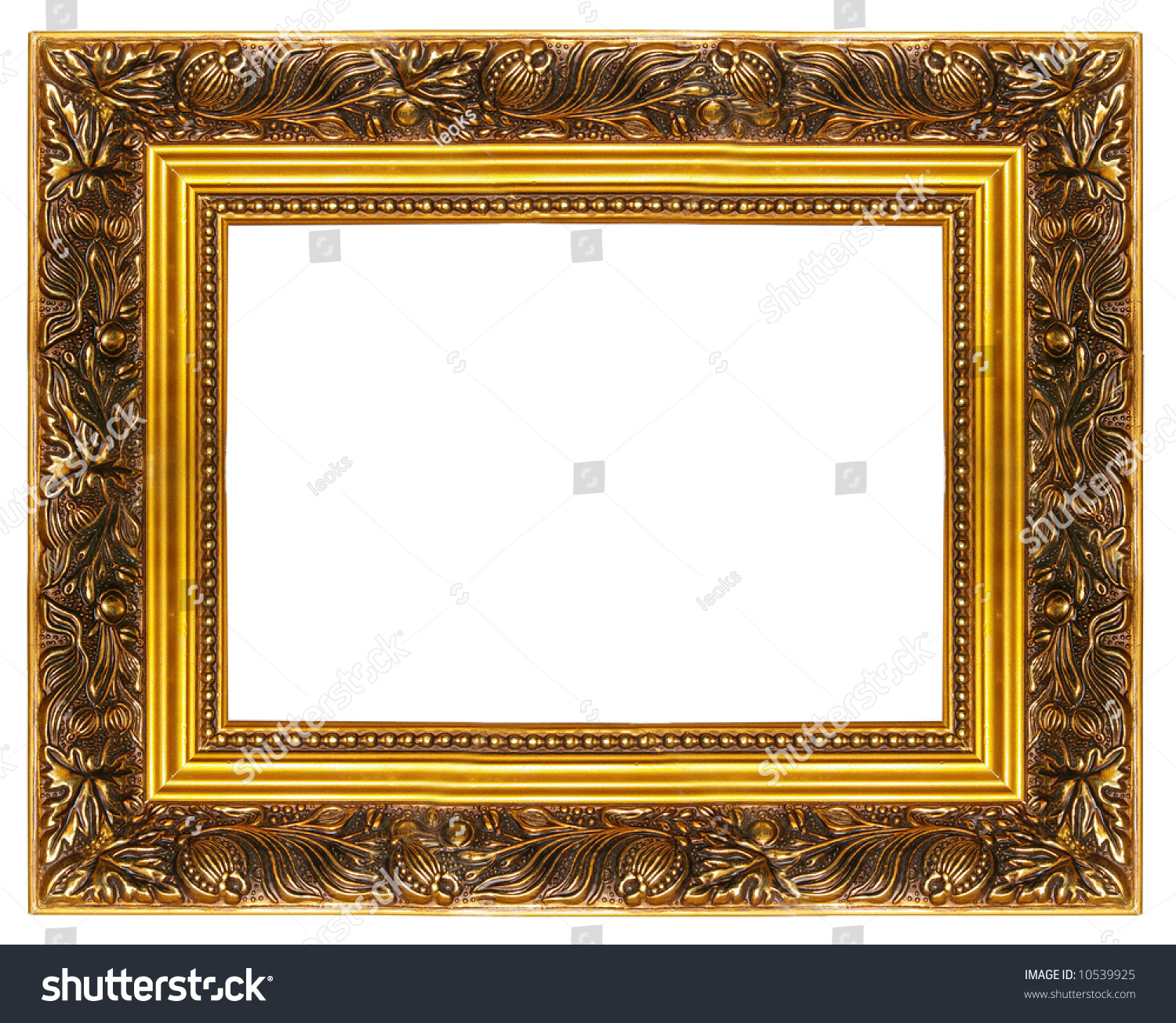 Beauty In Frame: Beautiful Classic Frame (From My Frames Collection) Stock