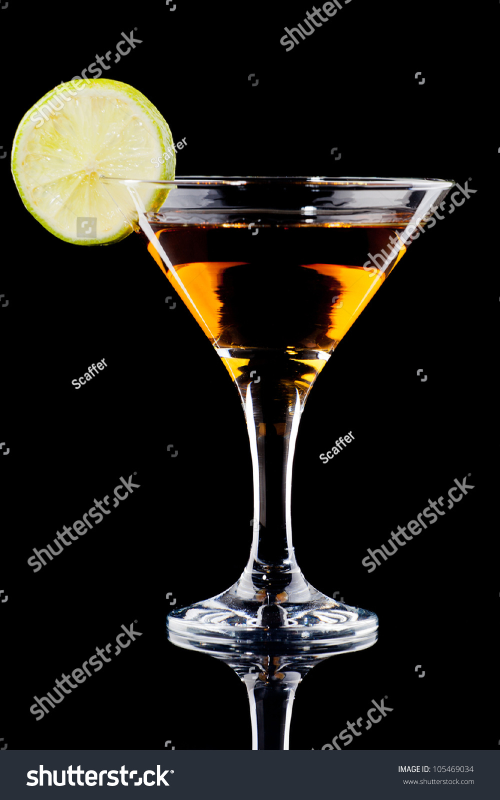 Perfect Manhattan Cocktail Stock Photo 105469034 - Shutterstock