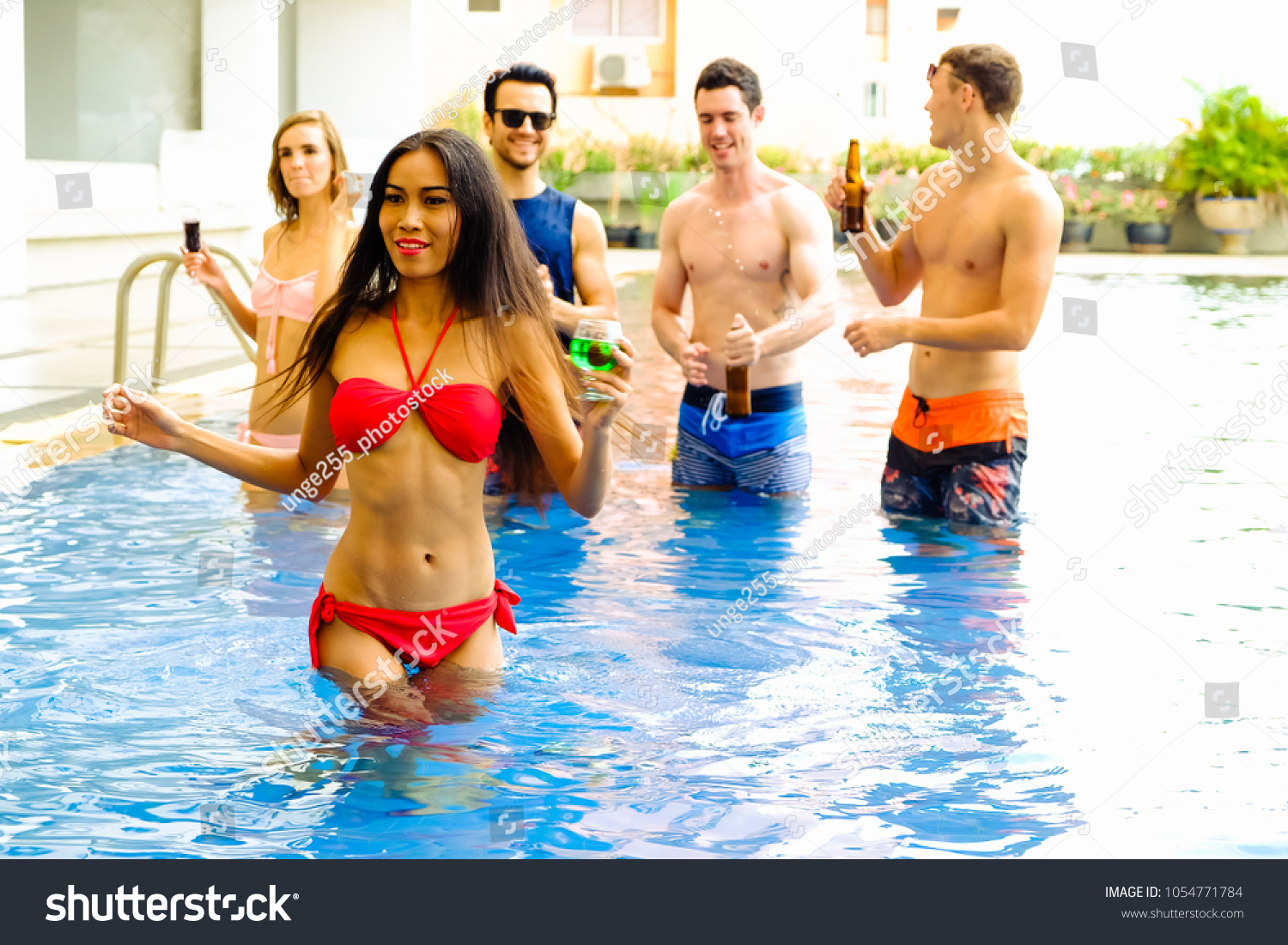 sexy party pool