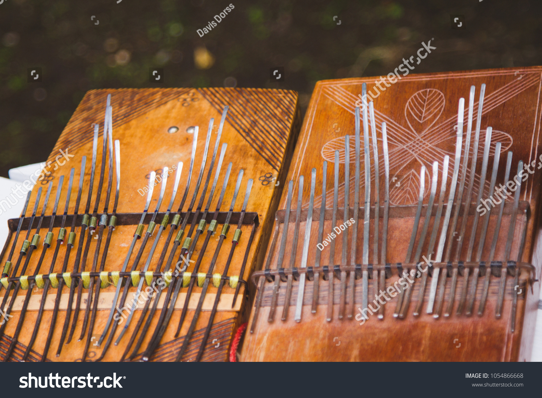 Kalimba Music Instruments Stock Photo Edit Now 1054866668