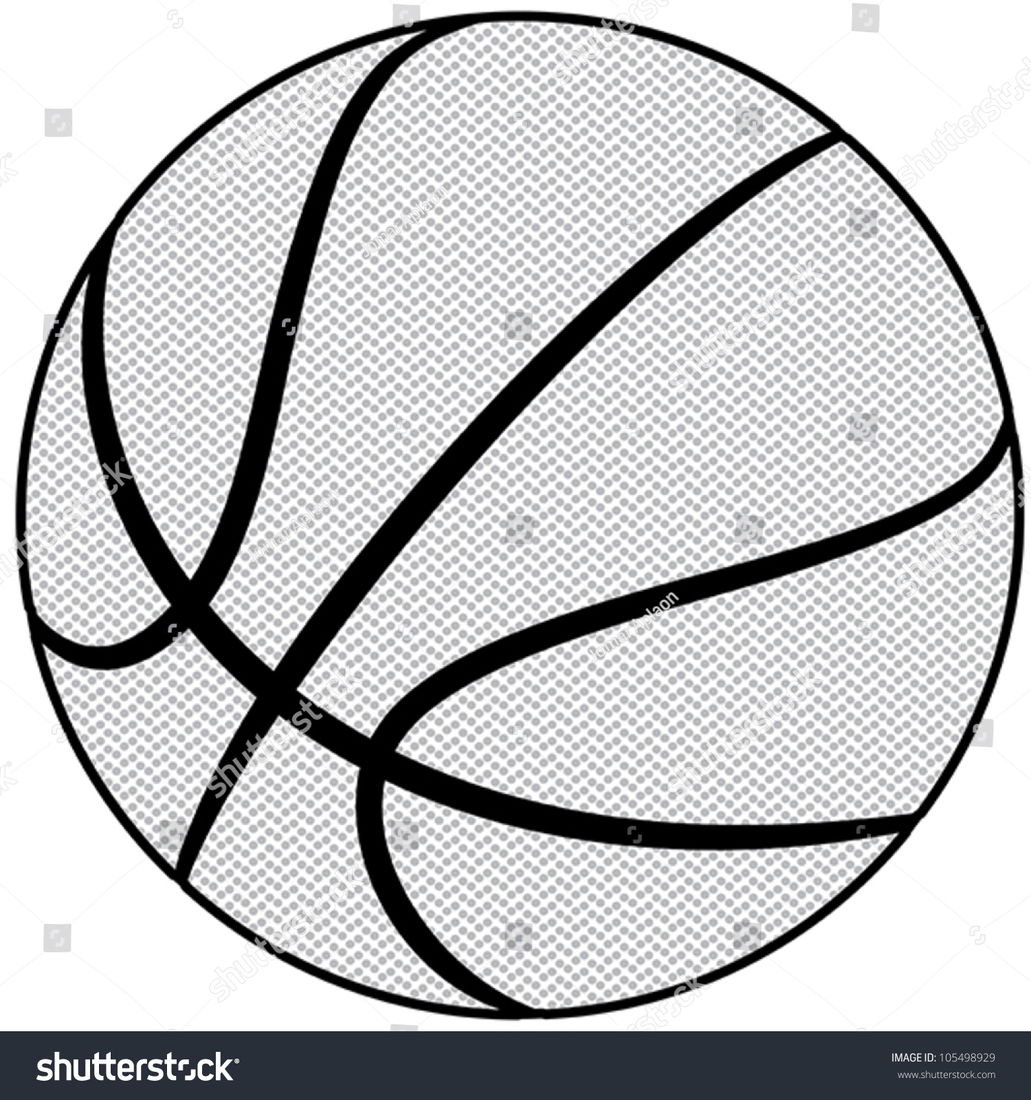 Line Drawing Basketball : Ball basketball sport isolated equipment game
