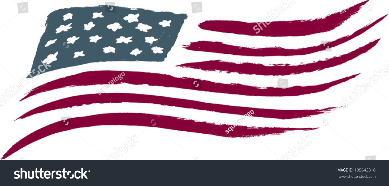 brushed american flag graphic stock photo photo vector rh shutterstock com american flag graphic design american flag graphic wraps