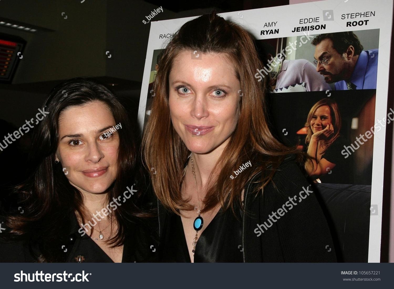 Sarah Lassez and Silvia Suvadova at the Los Angeles Premiere Of 'Bob Funk'.