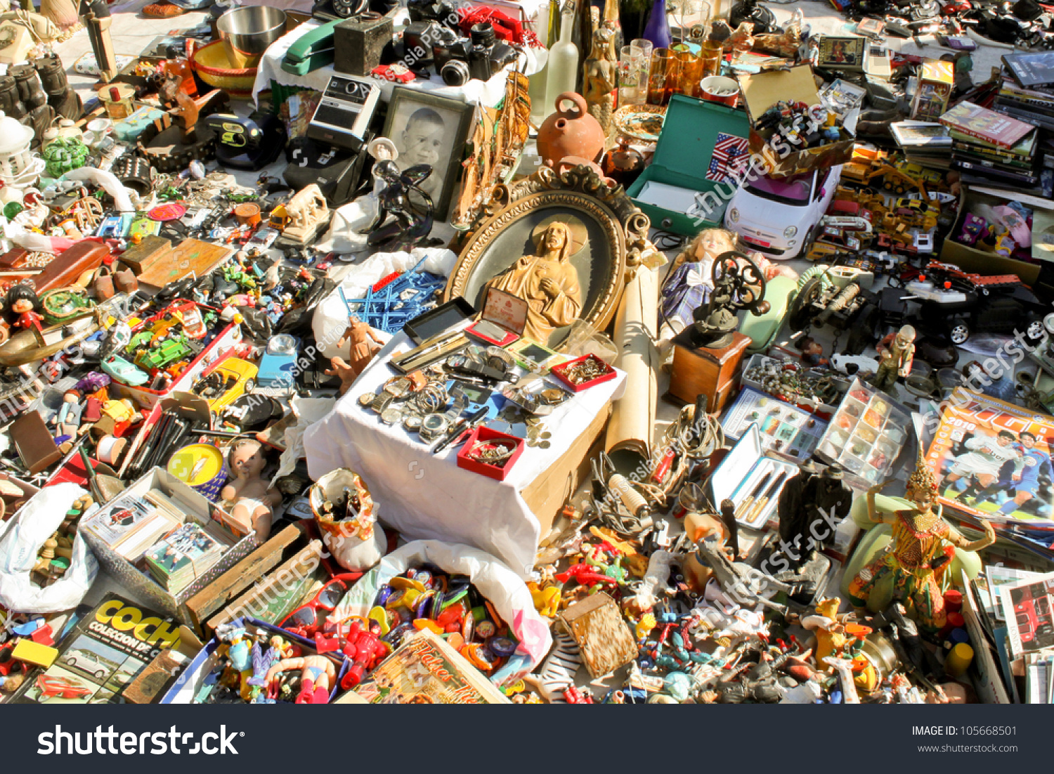 Barcelona may 14 typical stall on stock photo 105668501 - Encantes barcelona ...