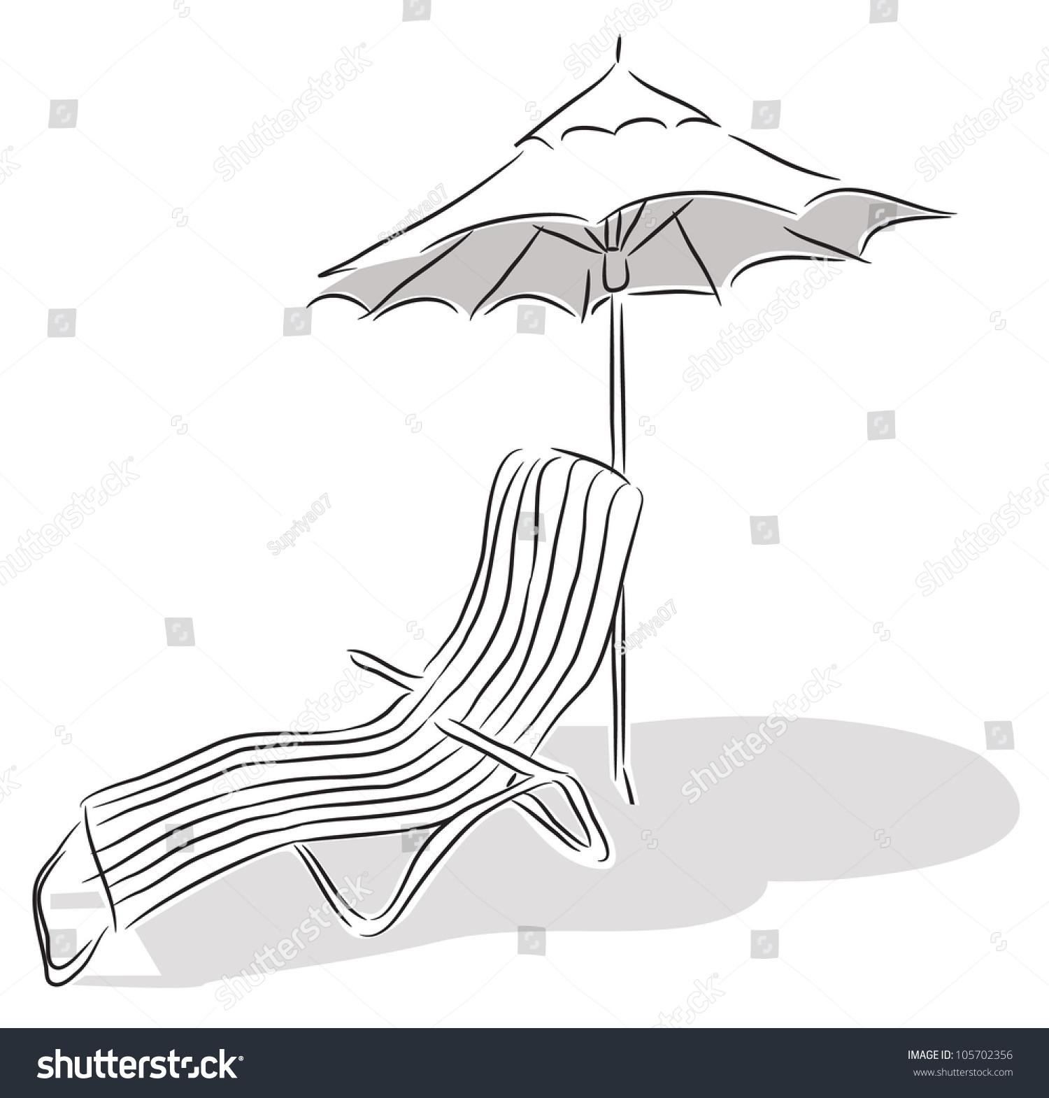 Beach Chair Drawing Instachairus