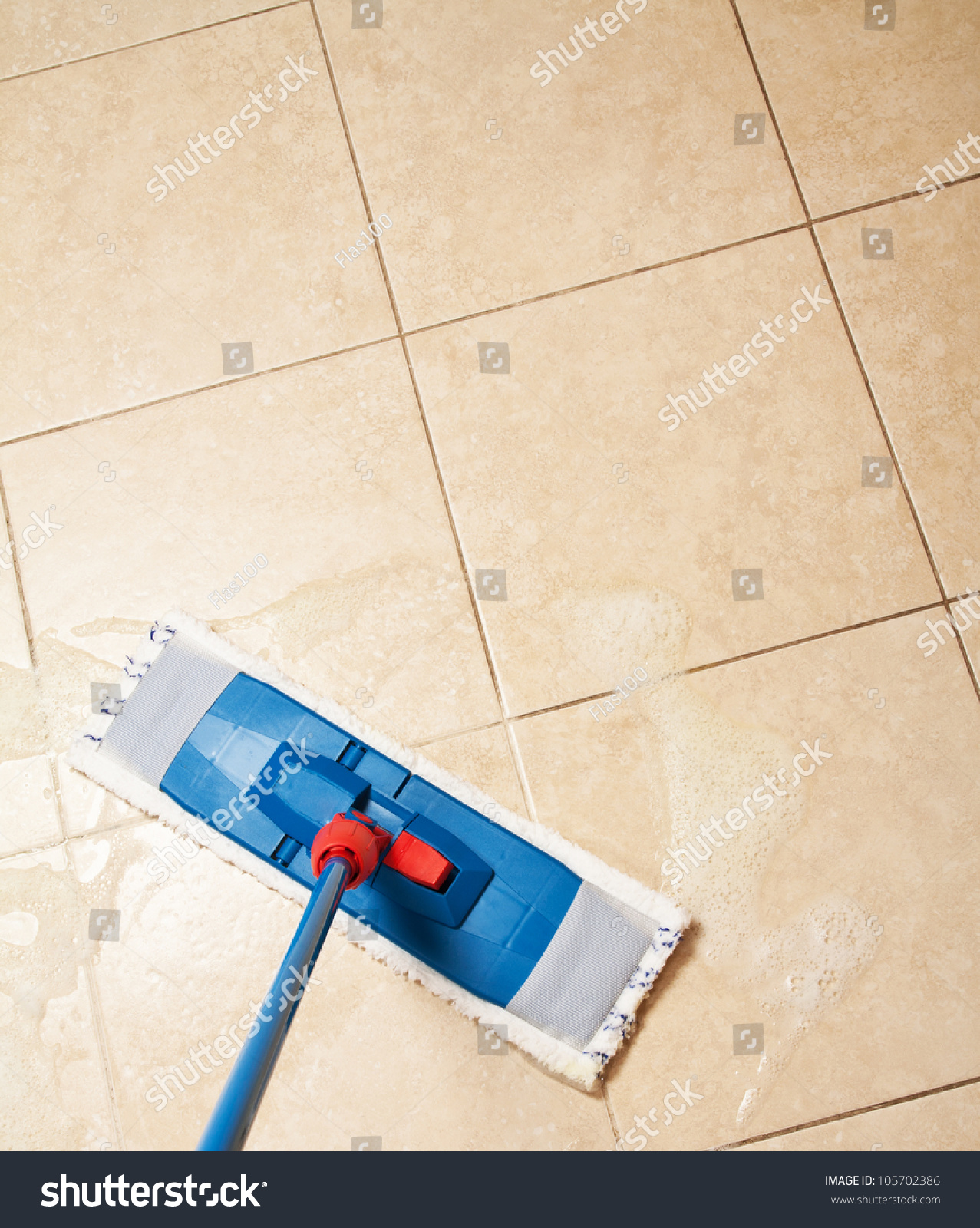 House cleaning with the mop stock photo 105702386 for House cleaning stock photos
