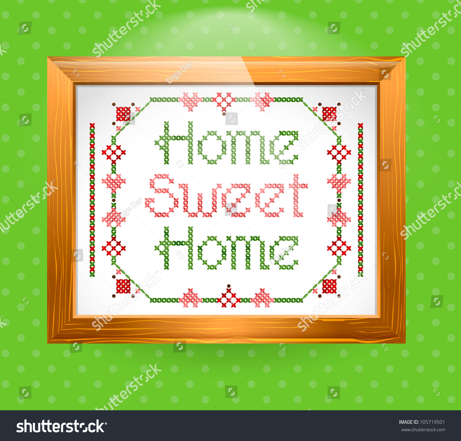 Home sweet home sign vector stock vector 105719501 for Home sweet home arredamento
