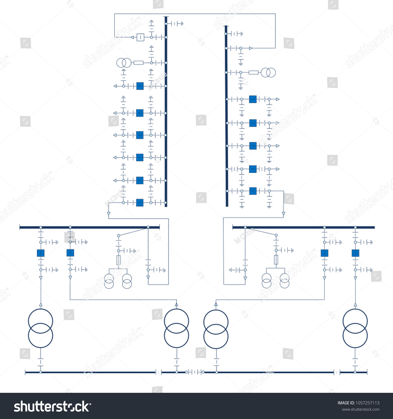 Vector Wiring Diagram Library Osd Electric For Power Transformers