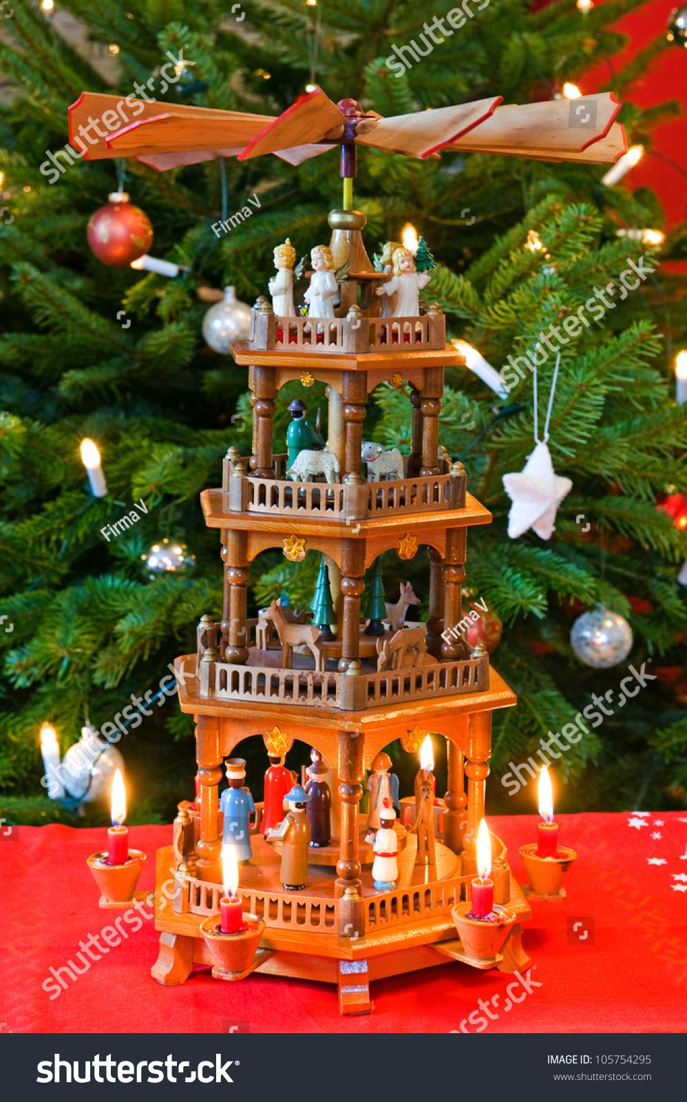 Pyramid christmas ornament - German Christmas Pyramid Preview Save To A Lightbox