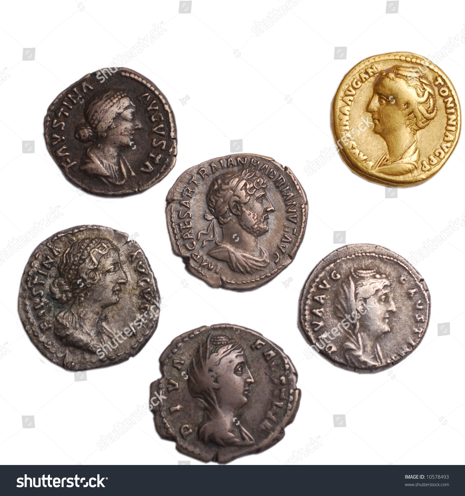 Stock Photo Roman Gold