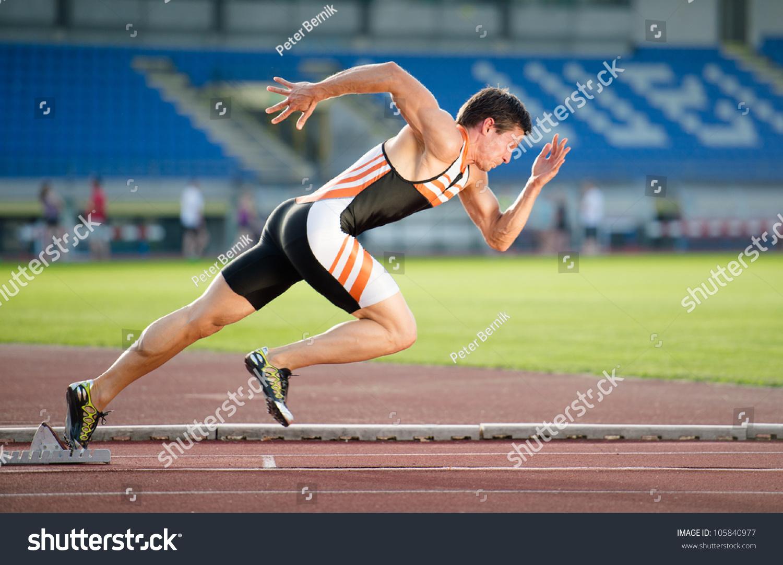 Image result for sprinter athlete