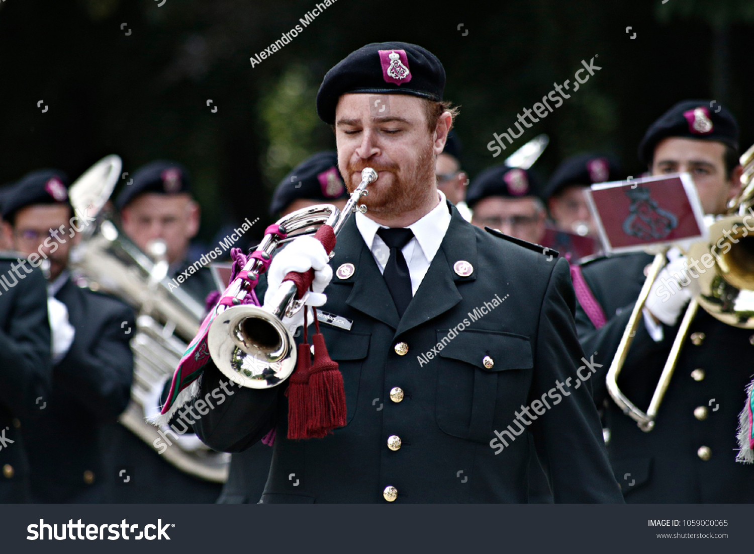 3c603725a71 Members of Belgian Army band perform during the visit of Chinese Prime  Minister Li Keqiang in