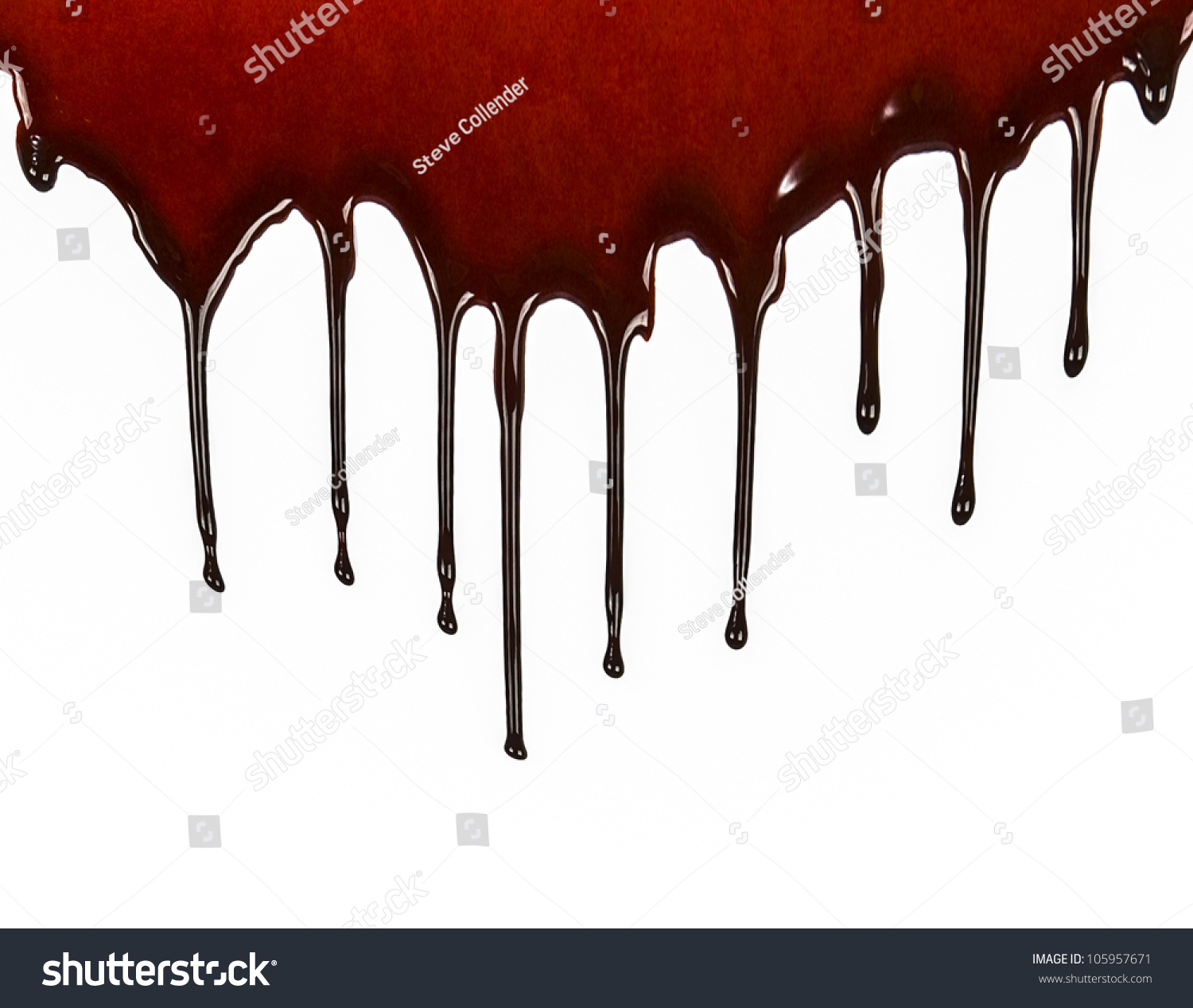 Royalty-free Dripping blood #105957671 Stock Photo ...