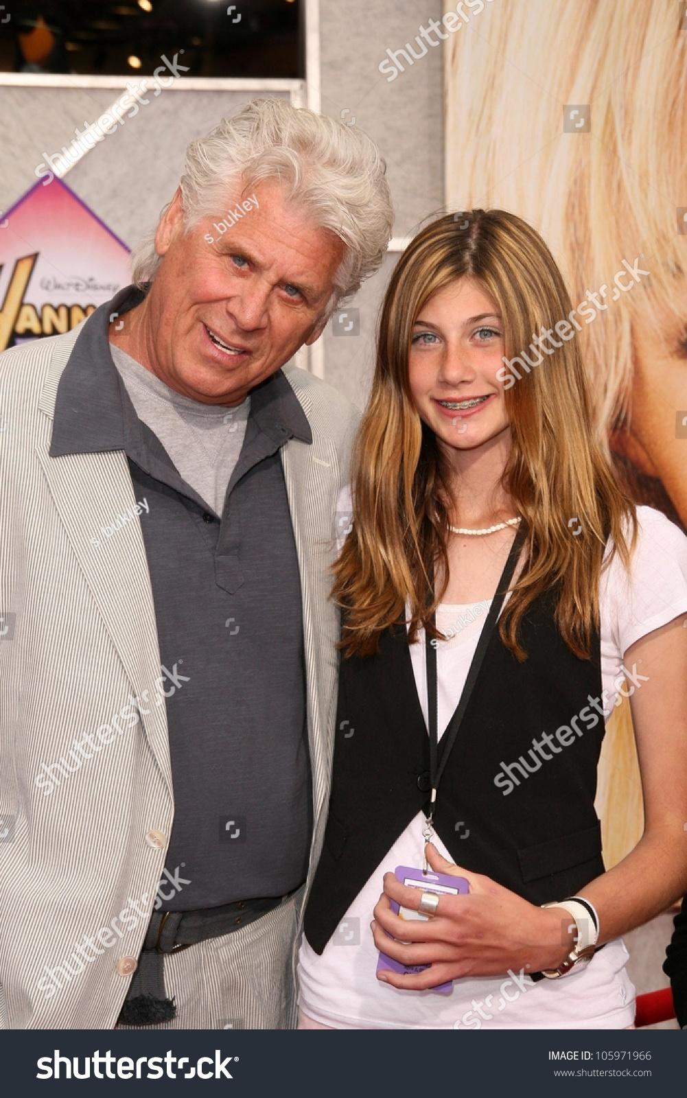 Barry Bostwick His Daughter Chelsea Los Stockfoto (Jetzt bearbeiten ...
