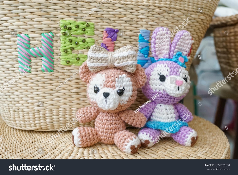 Crochet Pretty Bunny Amigurumi in Dress Free Pattern... Baby Dress | 1101x1500