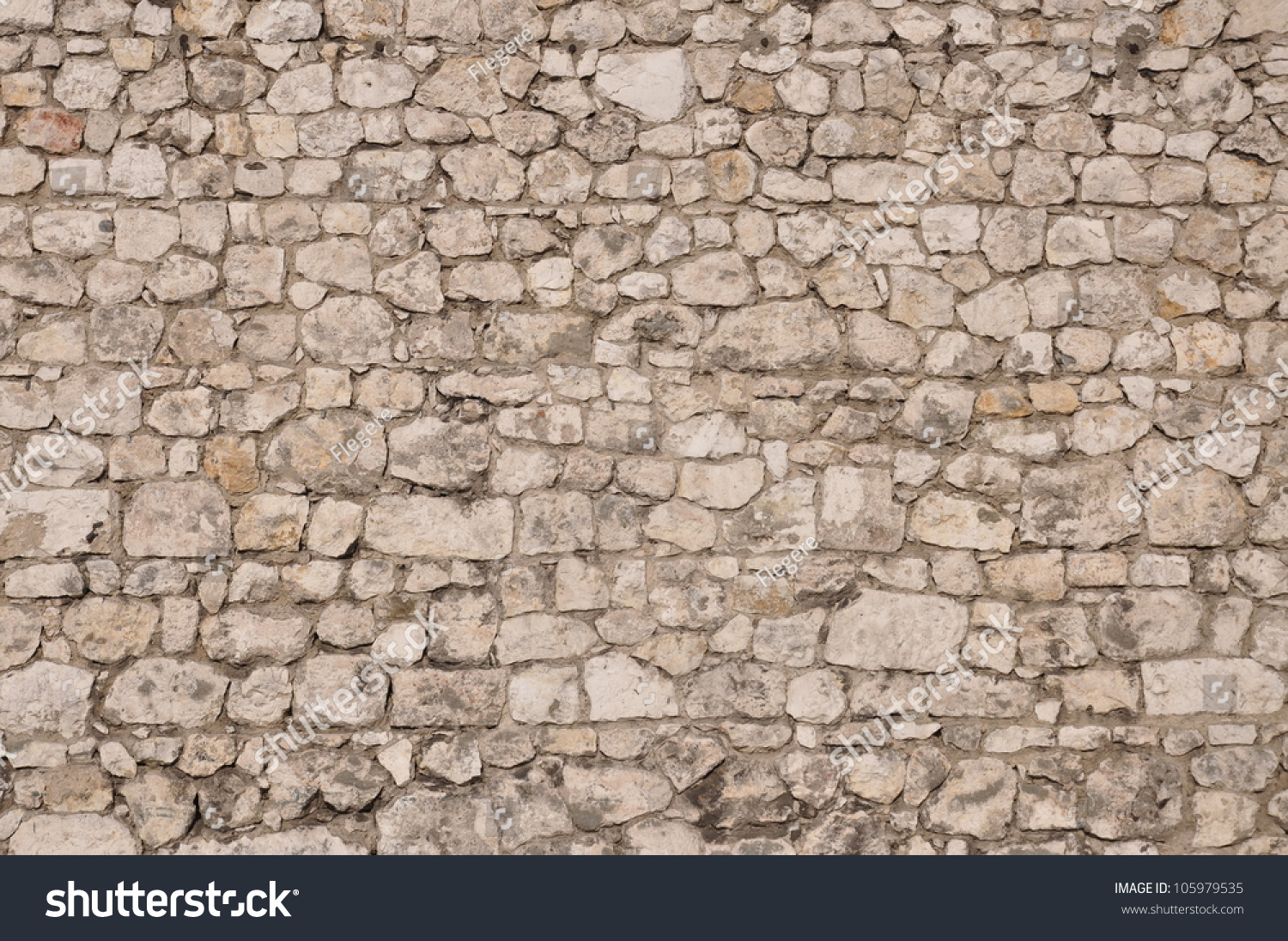 Natural Limestone Walls : Stone wall protection natural limestone as a background