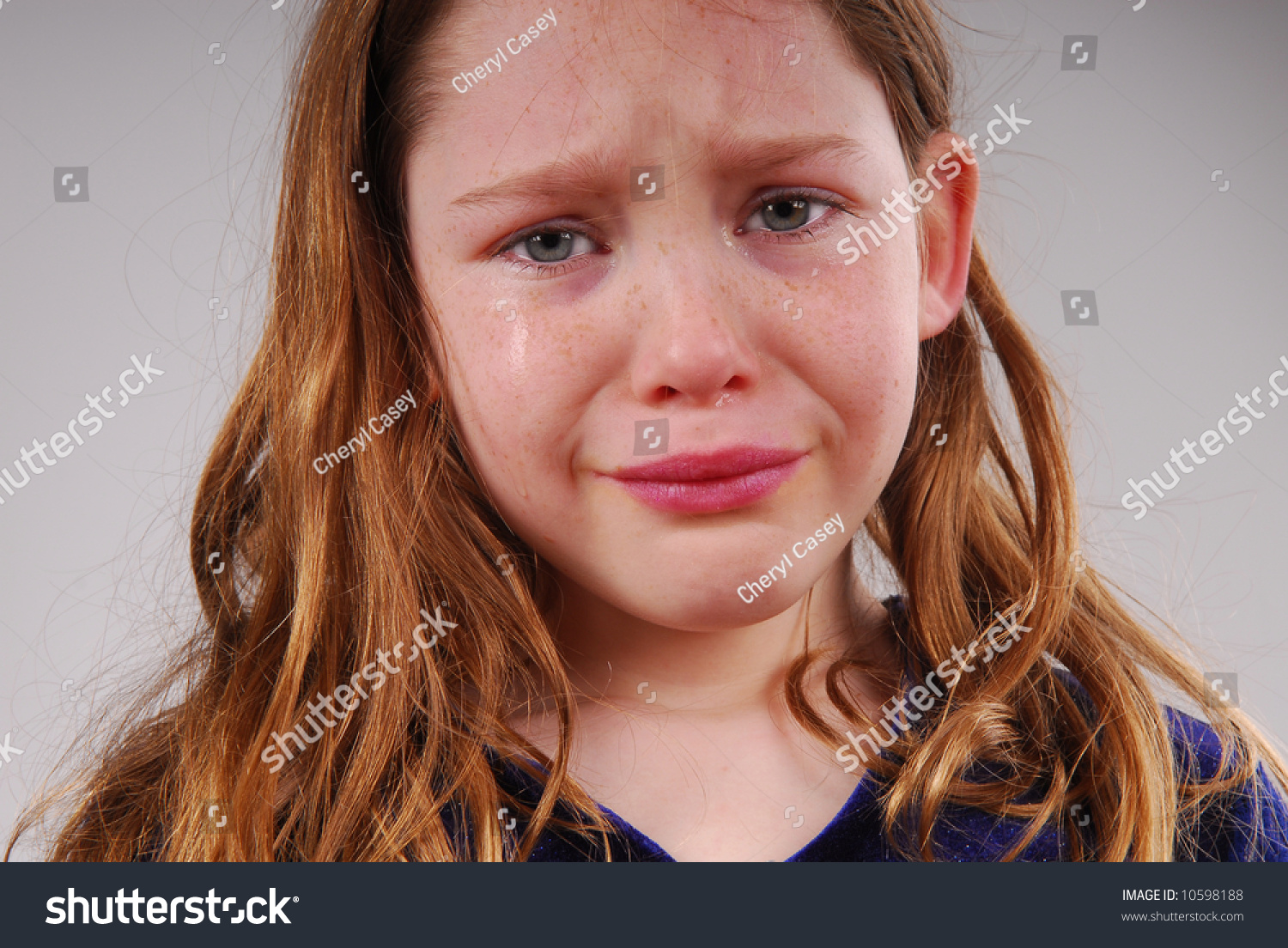 Young Girl Crying Upset Stock Photo 10598188 - Shutterstock-7762