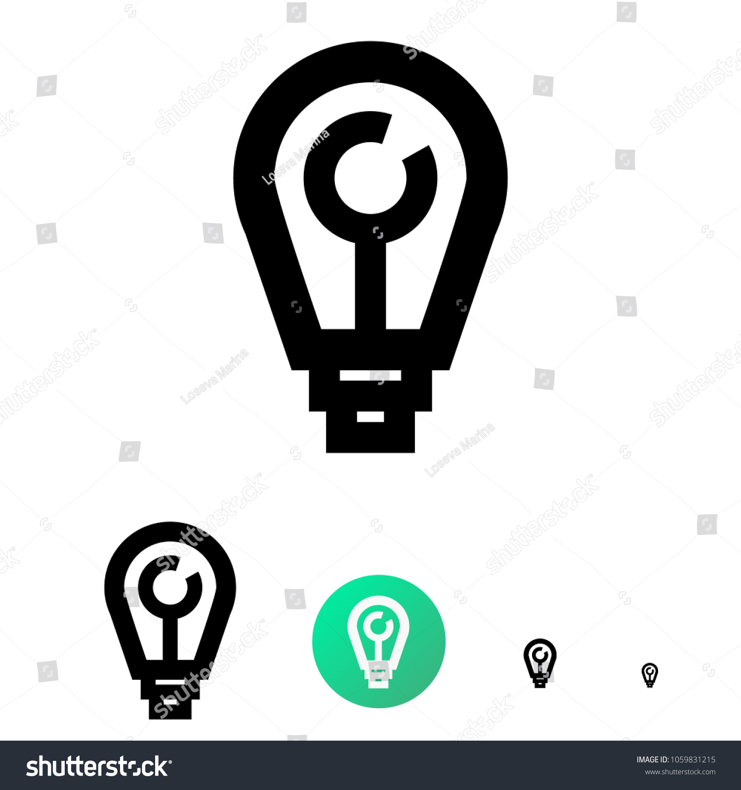 Ideas generator icon company name generator stock vector ideas generator icon or company name generator for business e commerce vector line biocorpaavc Image collections
