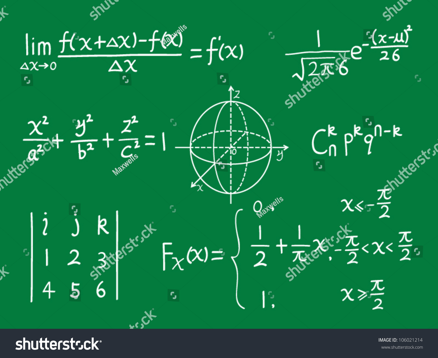 Math Formulas Clipart math equation stock vectors & vector clip art ...