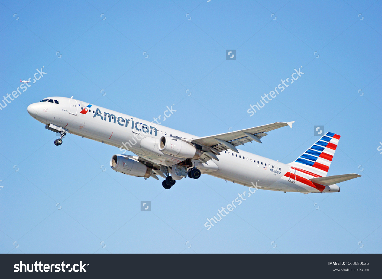 LOS ANGELESCALIFORNIA FEB 24 2018 American Stock Photo (Edit