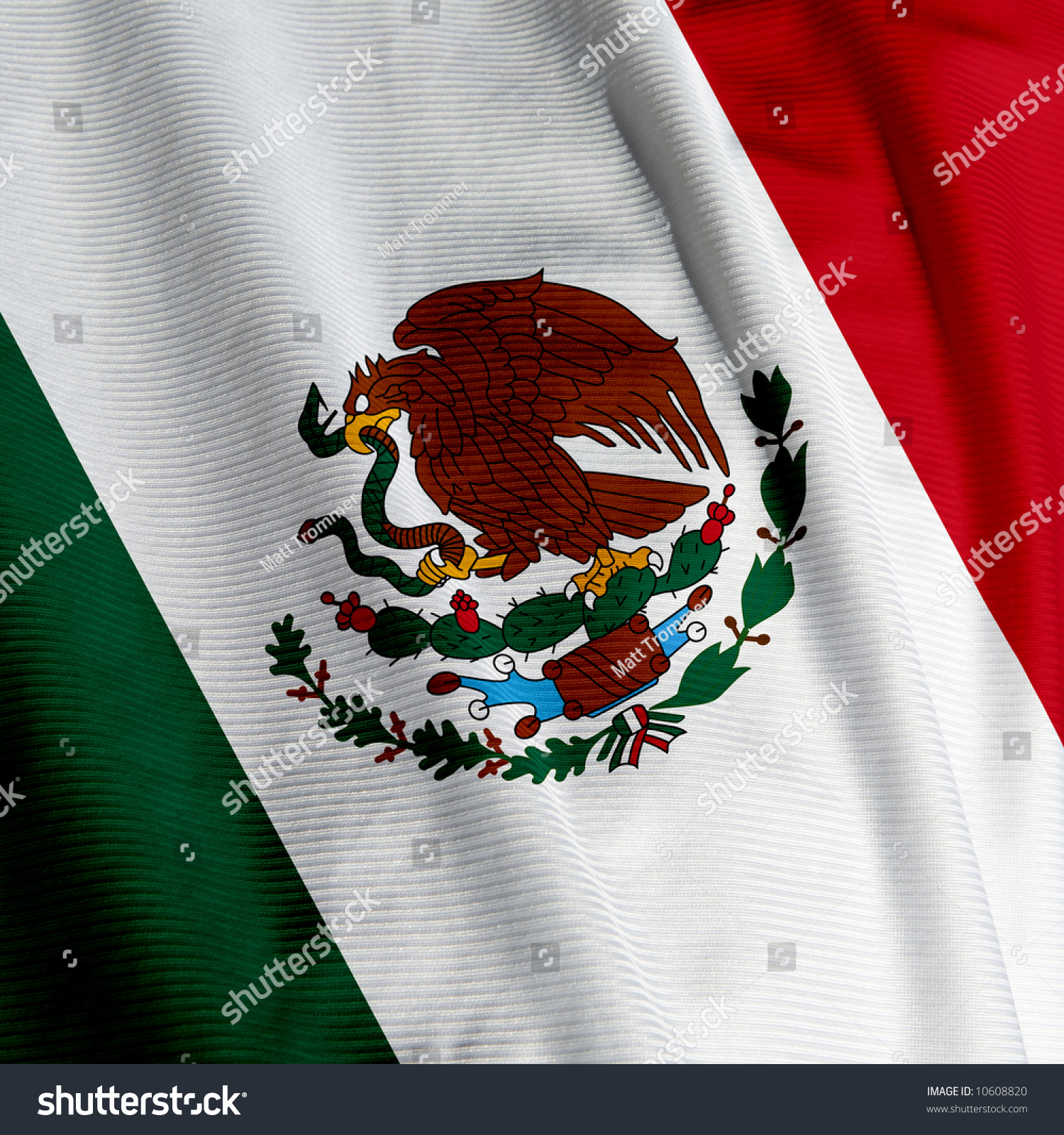 close mexican flag square image stock photo 10608820 shutterstock