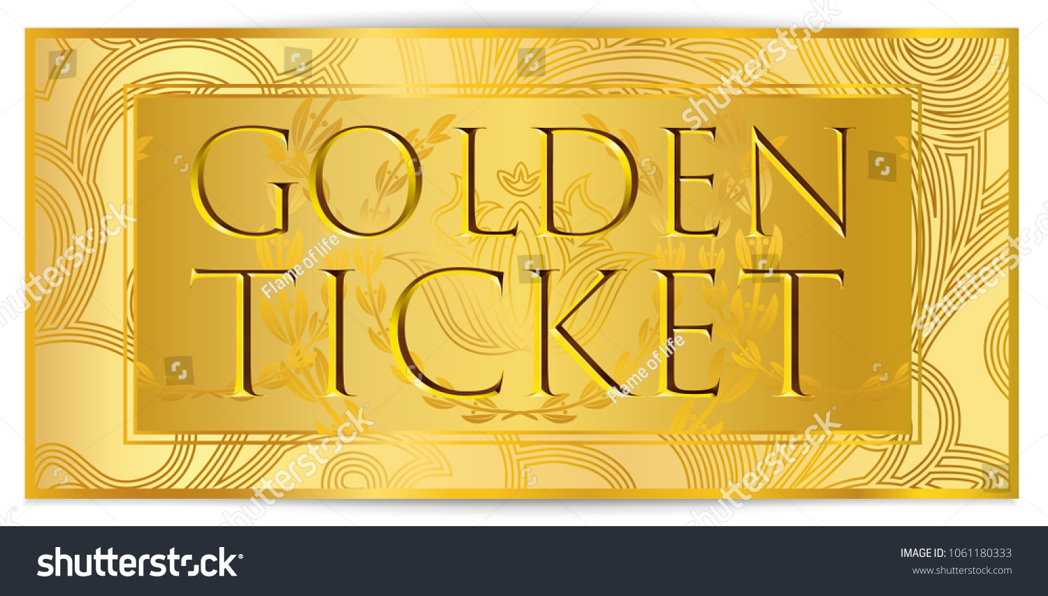 graphic relating to Printable Golden Tickets called golden ticket templates -
