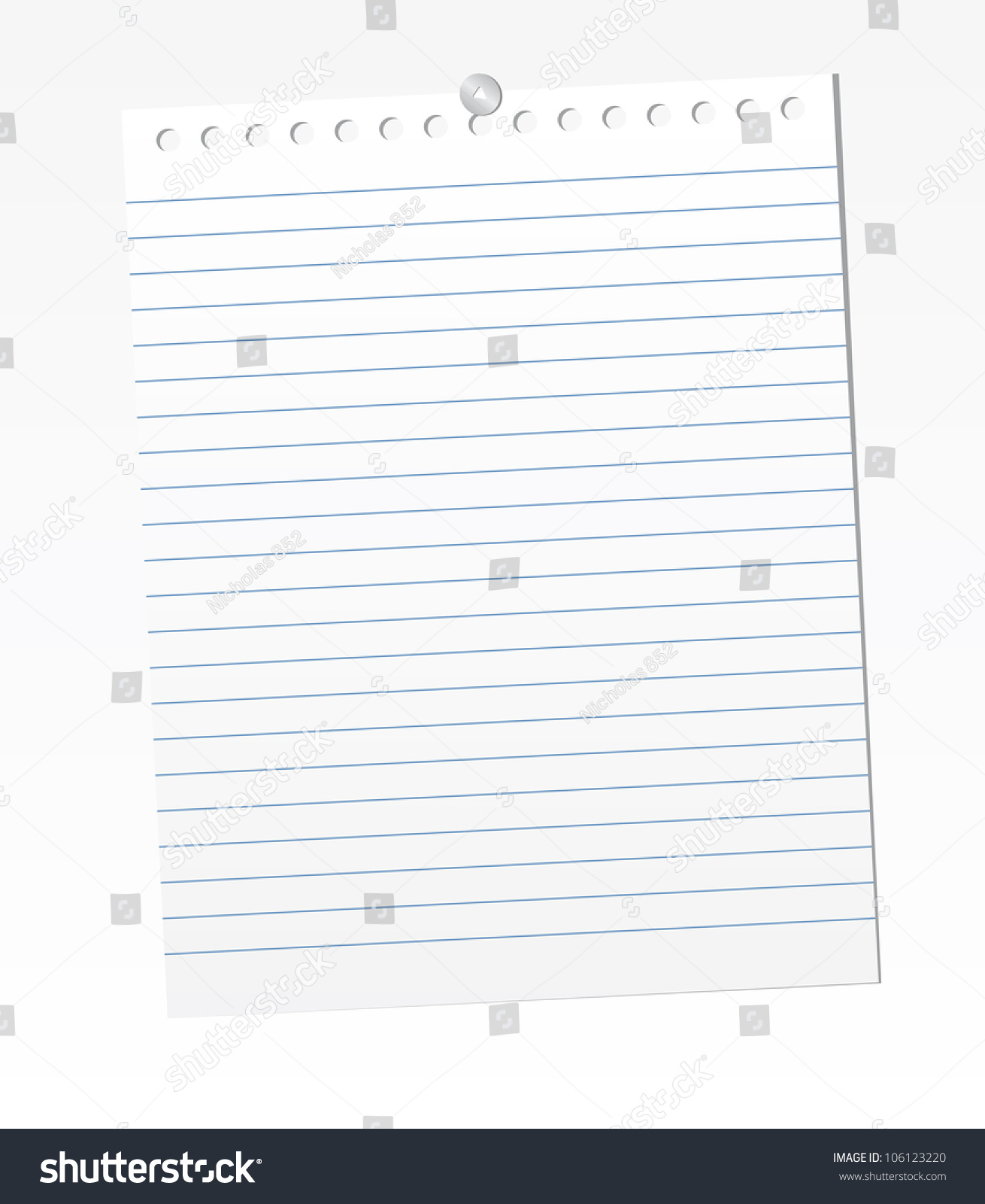 make lined paper in word