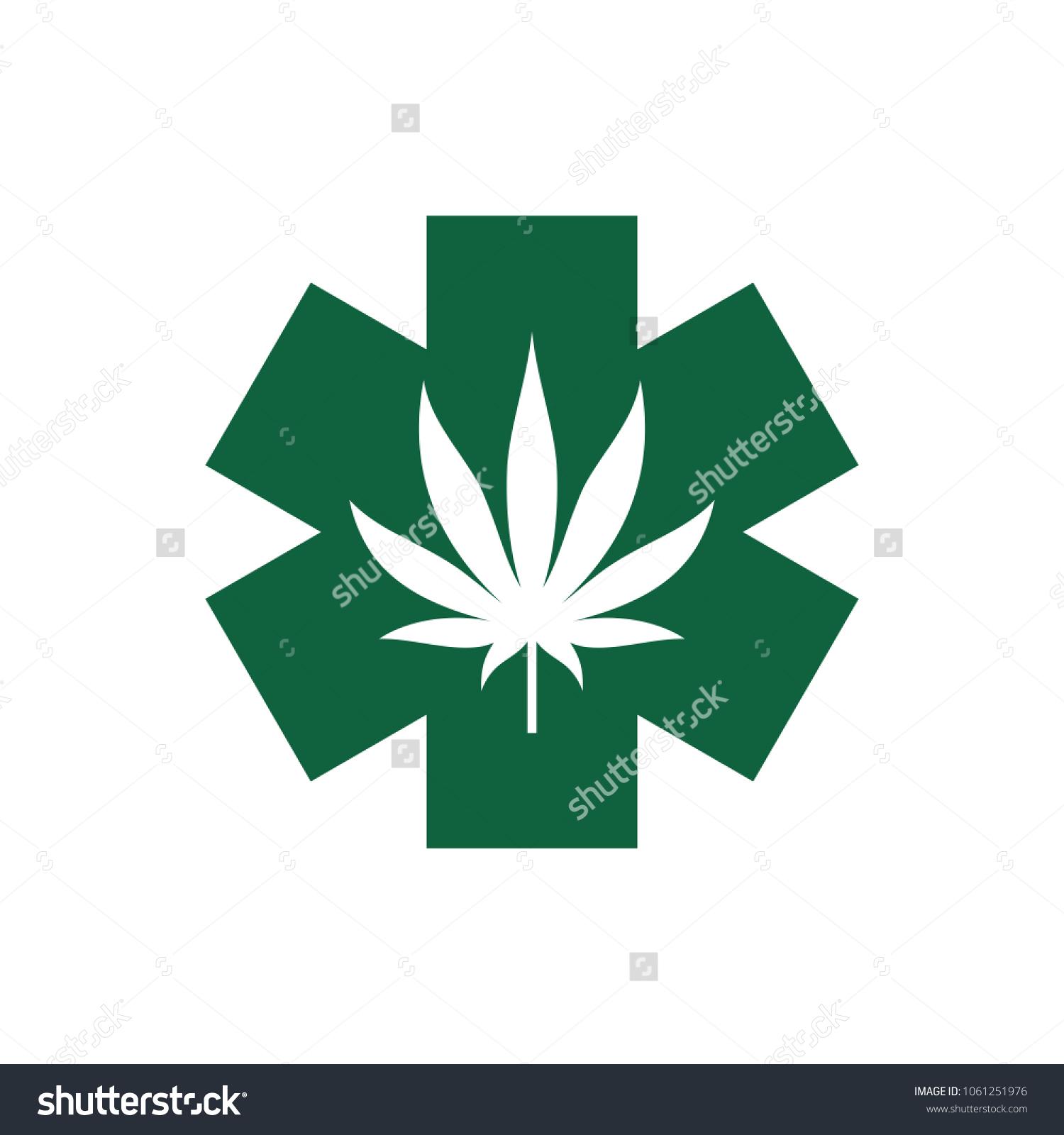Cannabis medical logo vector marijuana icon stock vector 1061251976 cannabis for medical logo vector marijuana icon weed and hemp symbol biocorpaavc Choice Image