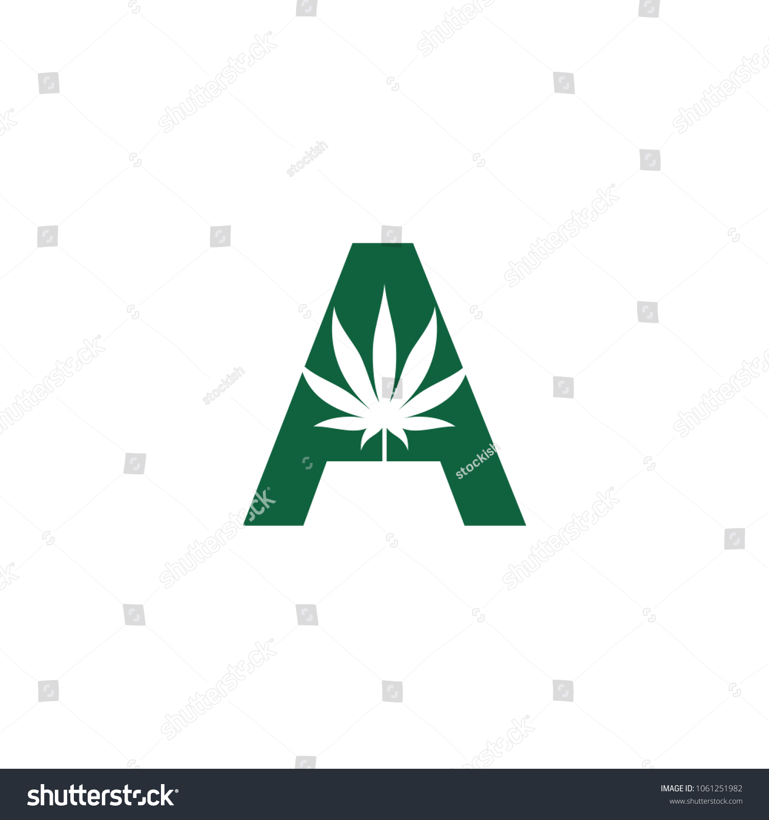 Cannabis medical logo vector marijuana icon stock vector 1061251982 cannabis for medical logo vector marijuana icon weed and hemp symbol biocorpaavc Choice Image