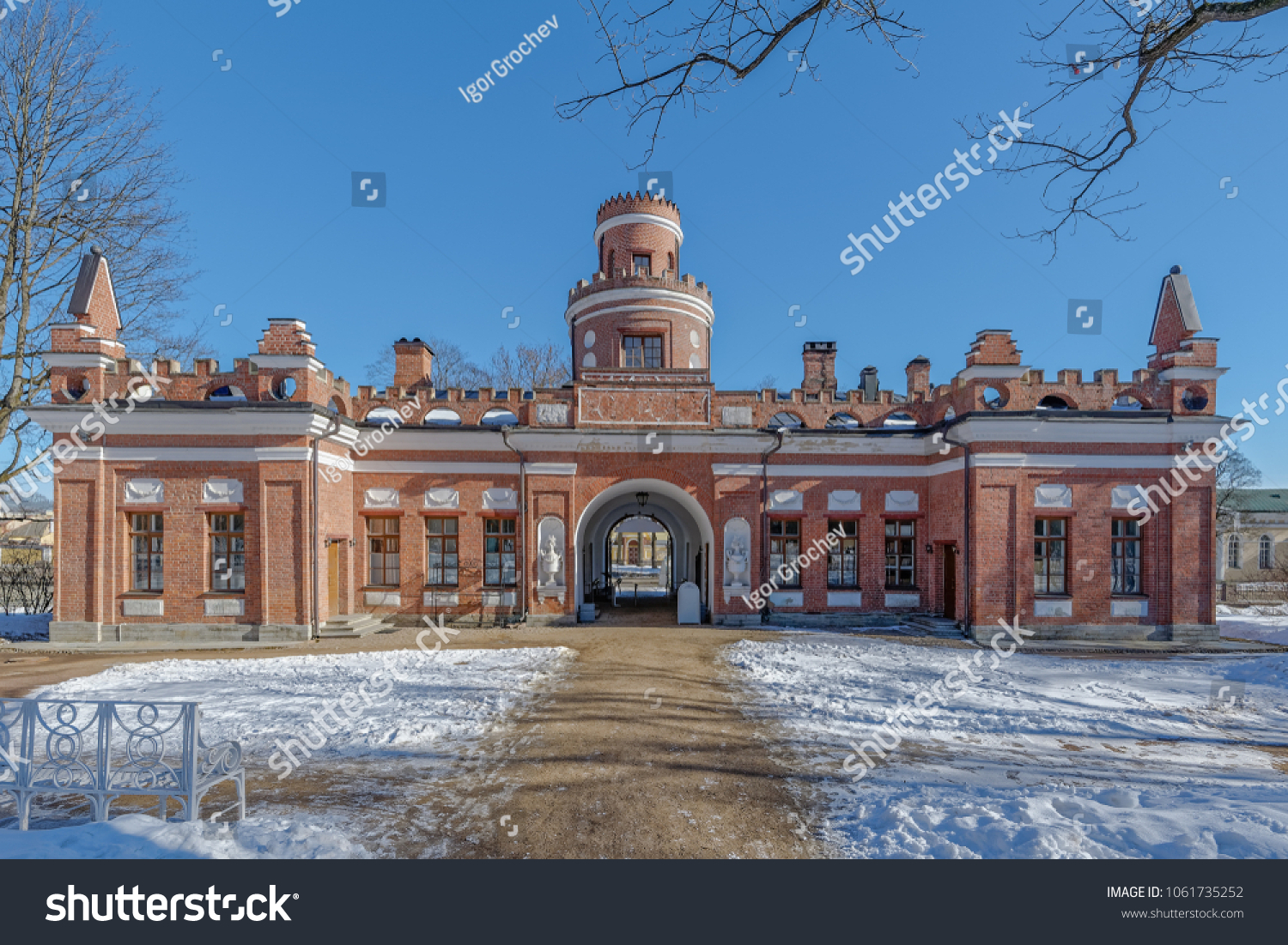 Winter View Hermitage Kitchen 17751776 By Stock Photo (Edit Now ...