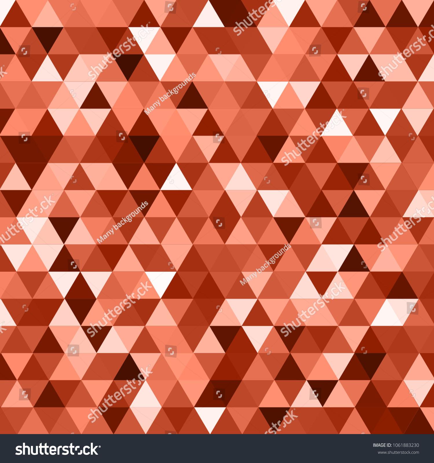 awesome geomeric abstract poligonal mosaic triangle stock