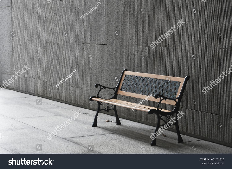 Miraculous Perspective Outdoor Bench Open Empty Space Stock Photo Edit Uwap Interior Chair Design Uwaporg
