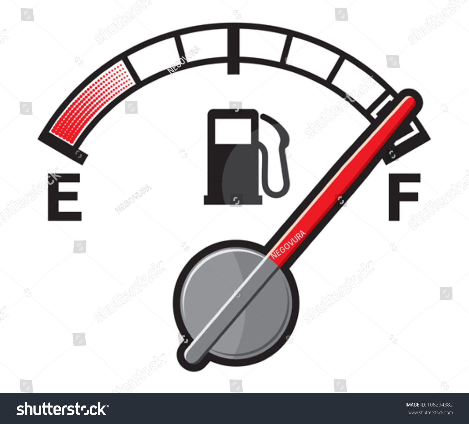 full gas tank stock vector royalty free 106294382 shutterstock