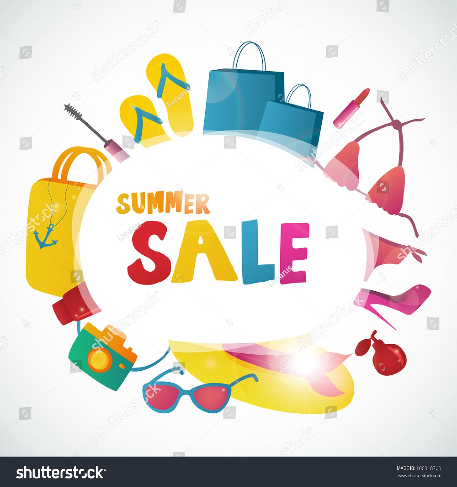 summer banner vector summer stock vector  summer banner vector summer template summer text concept summer