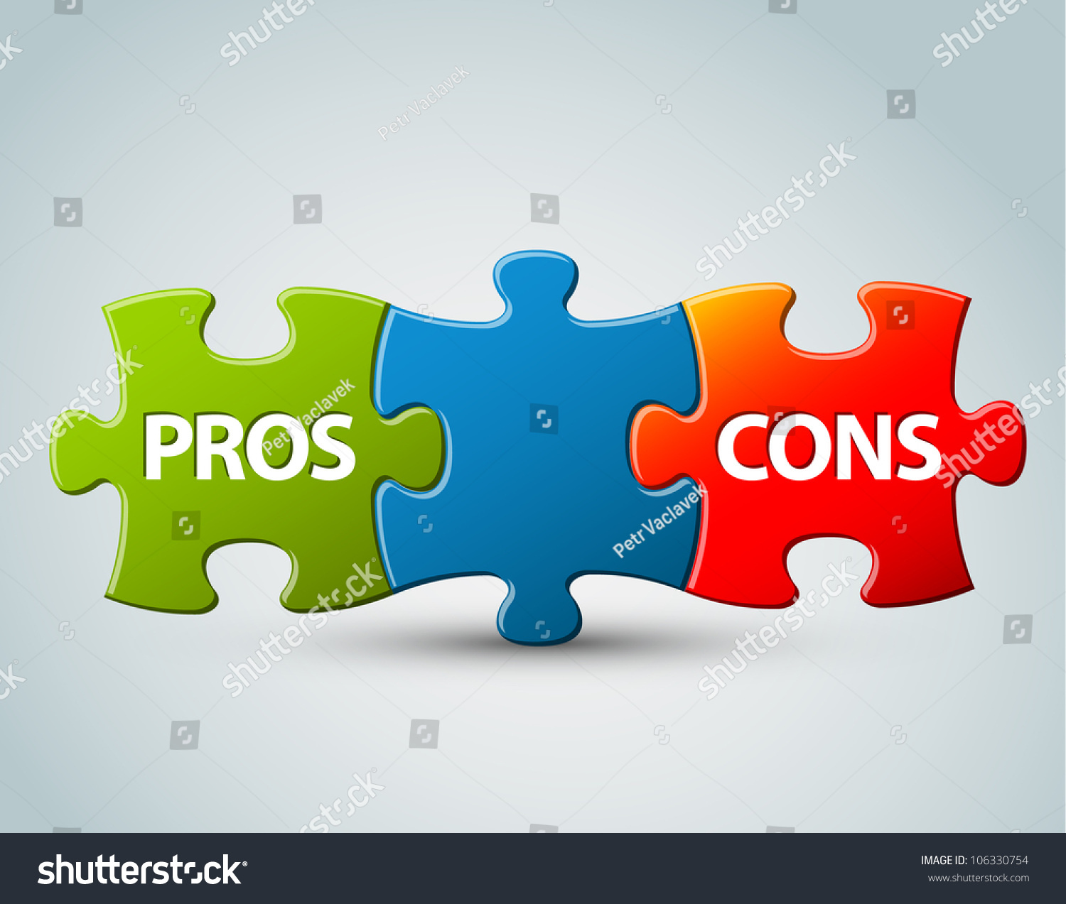vector pros cons compare model advantages stock vector  vector pros and cons compare model advantages and disadvantages