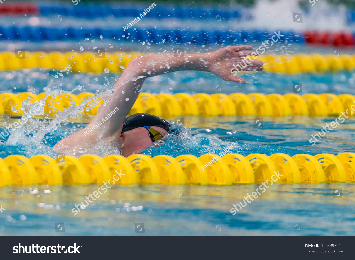 Front crawl nk games swimming pool stock photo edit now 1063997045
