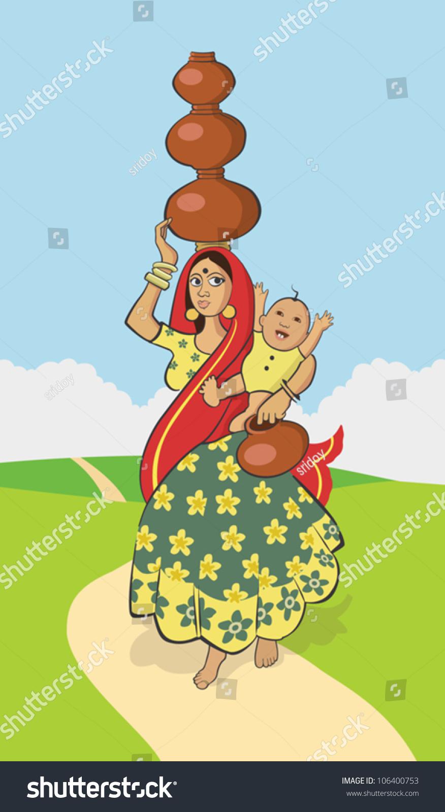 Indian village women hot dance songs