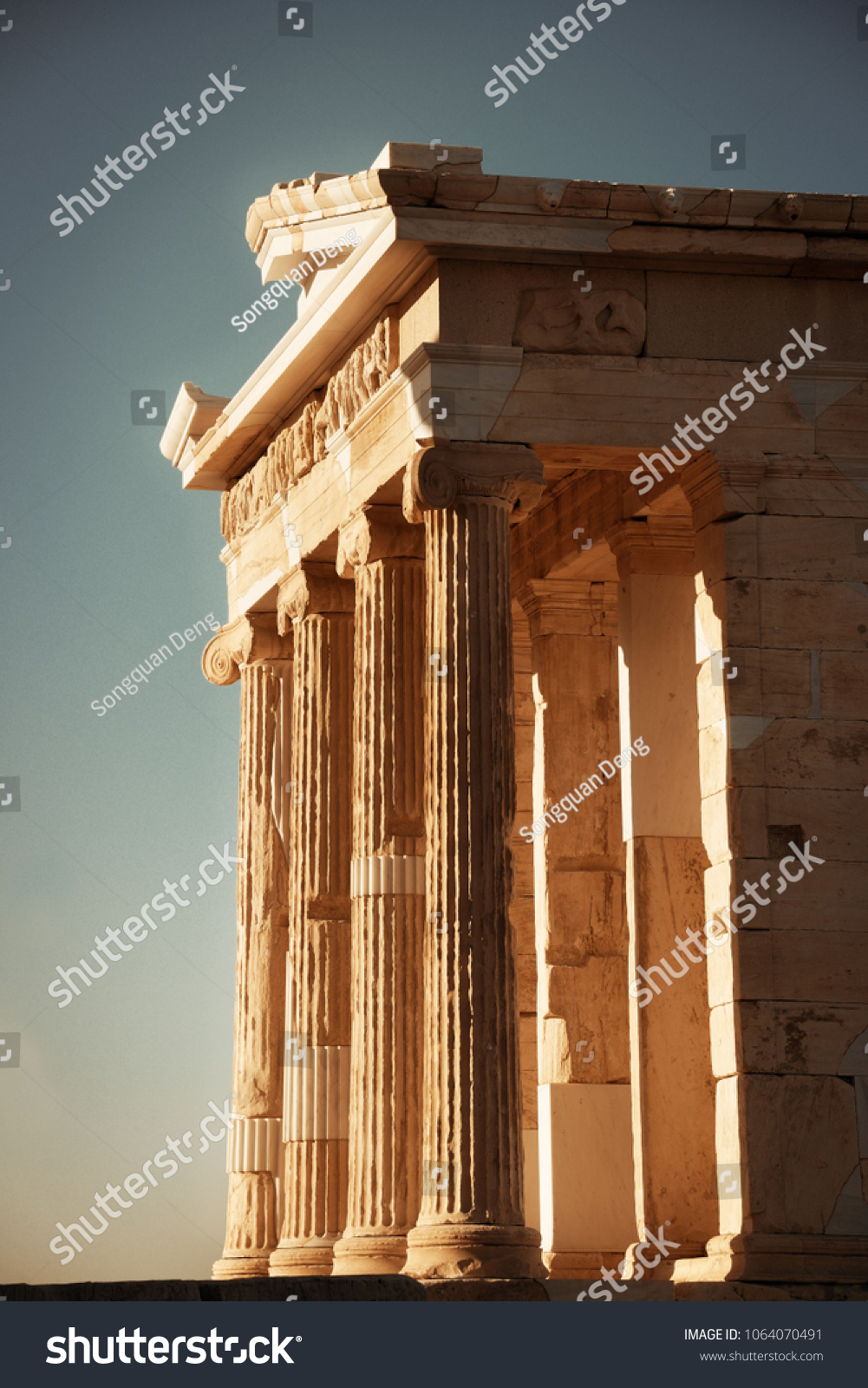 why was the temple of athena nike built