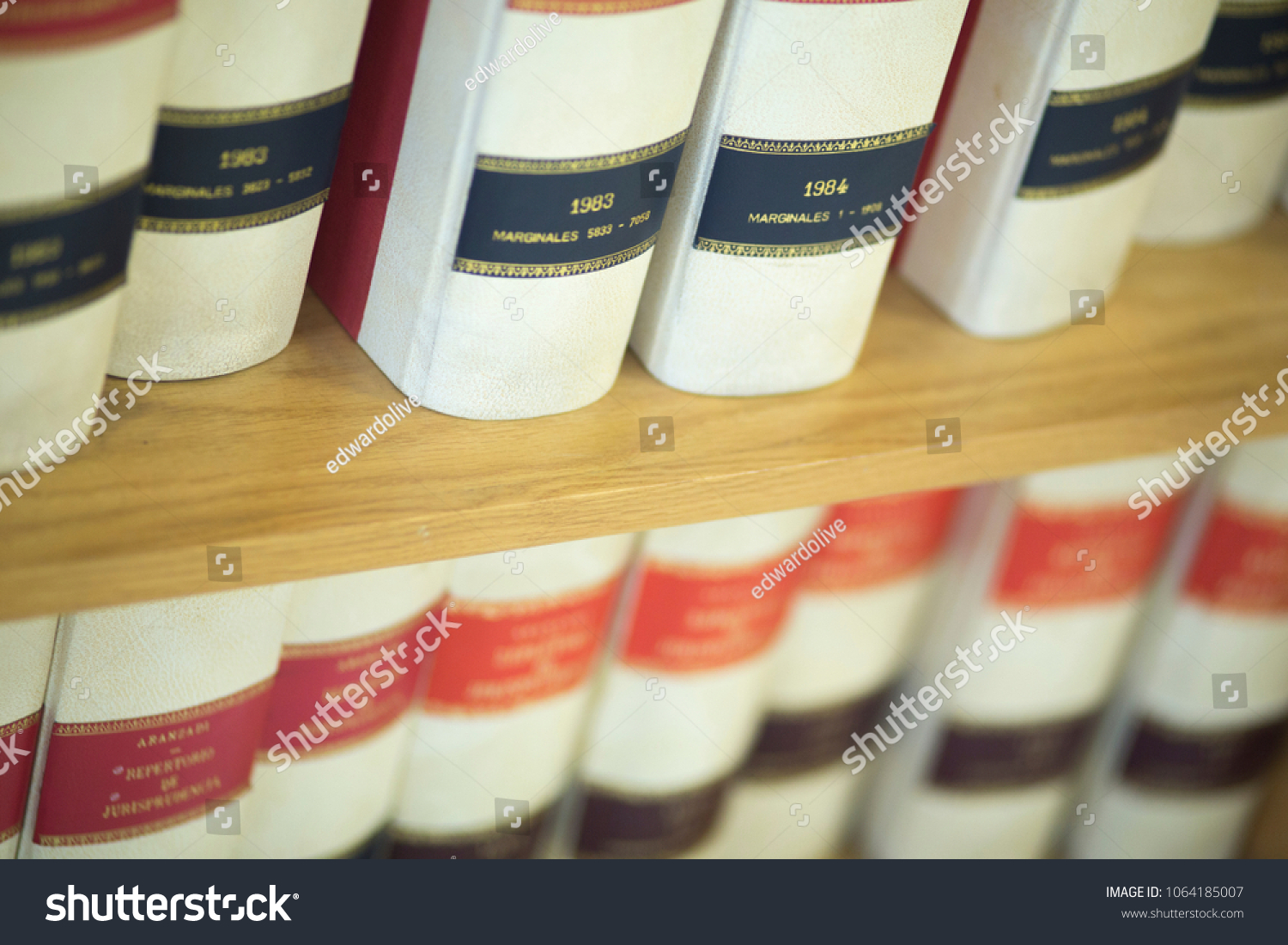 Law Firm Offices Old Legal Report Books On Bookshelf The Book Models Are And
