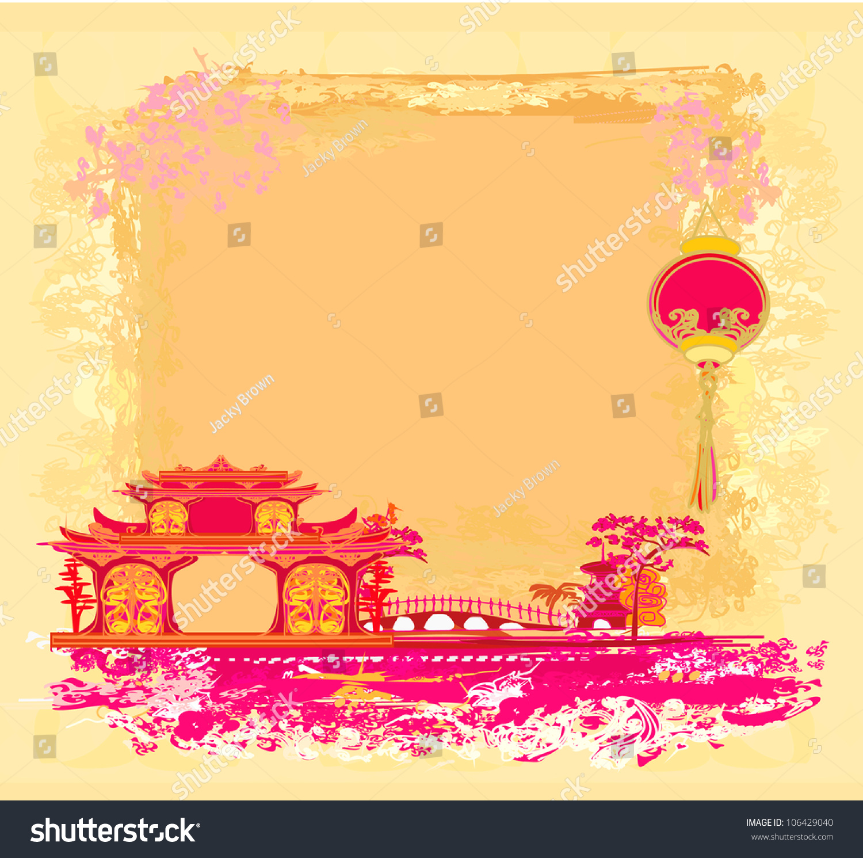 asian style lanterns