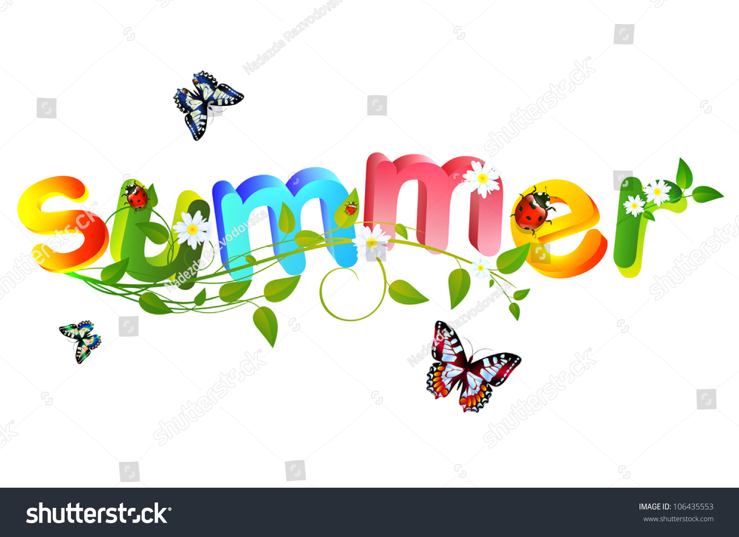summer theme signboard royalty free stock photo image 11686655