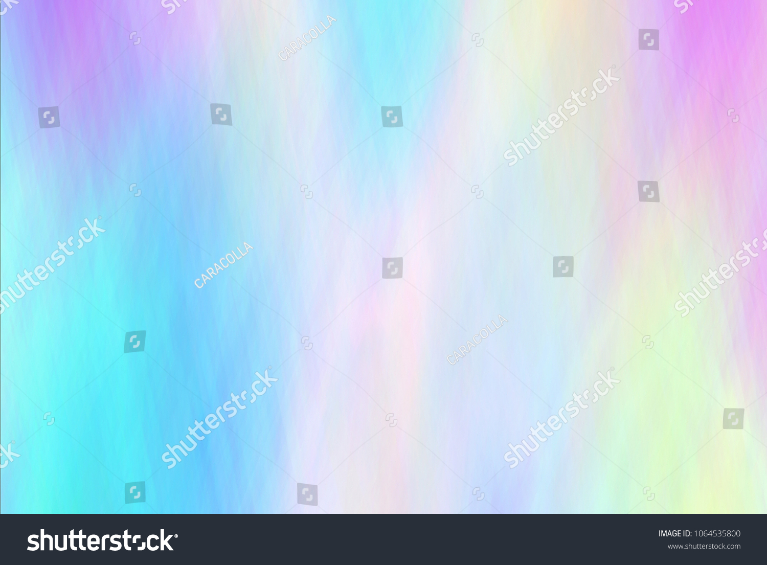 Punchy pastel trendy background. Holographic Foil. Wonderful magic retro 80s, 90s background. Very beautiful iridescent  wallpaper. Chameleon paper