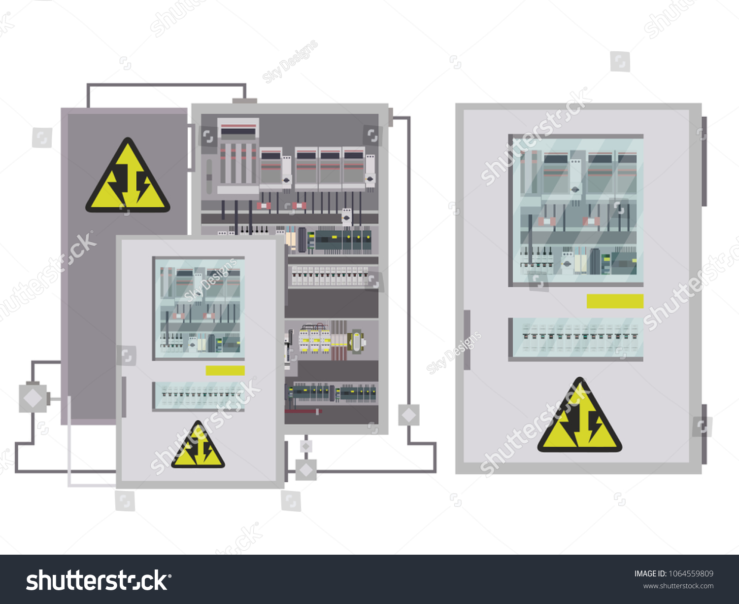 Industrial Electrical Panel Box Shop Eaton 20circuit 10space 100amp Main Breaker Load Center Value Electric Control