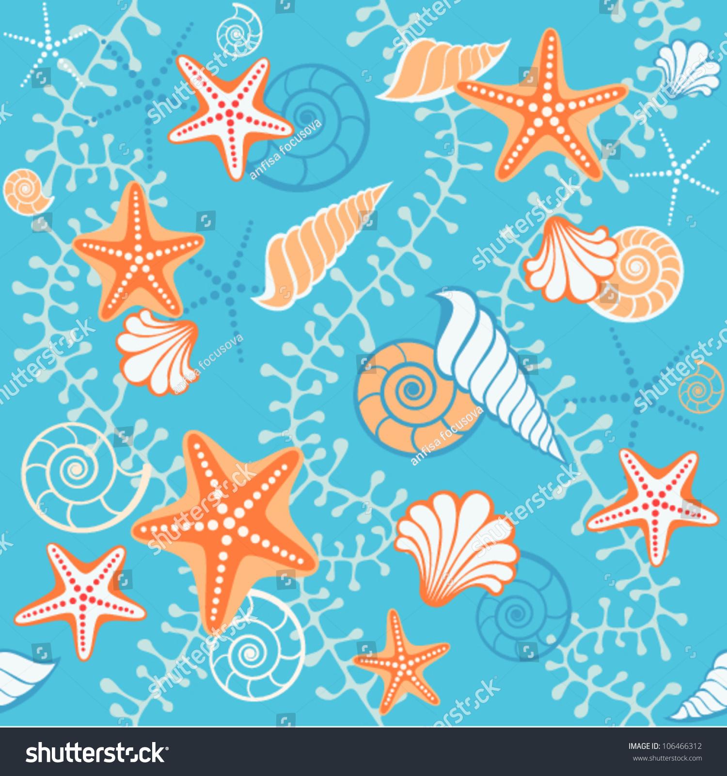 ocean fish wallpaper pattern - photo #23