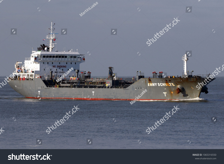 Tanker emmy schulte reaches port rotterdam stock photo edit now