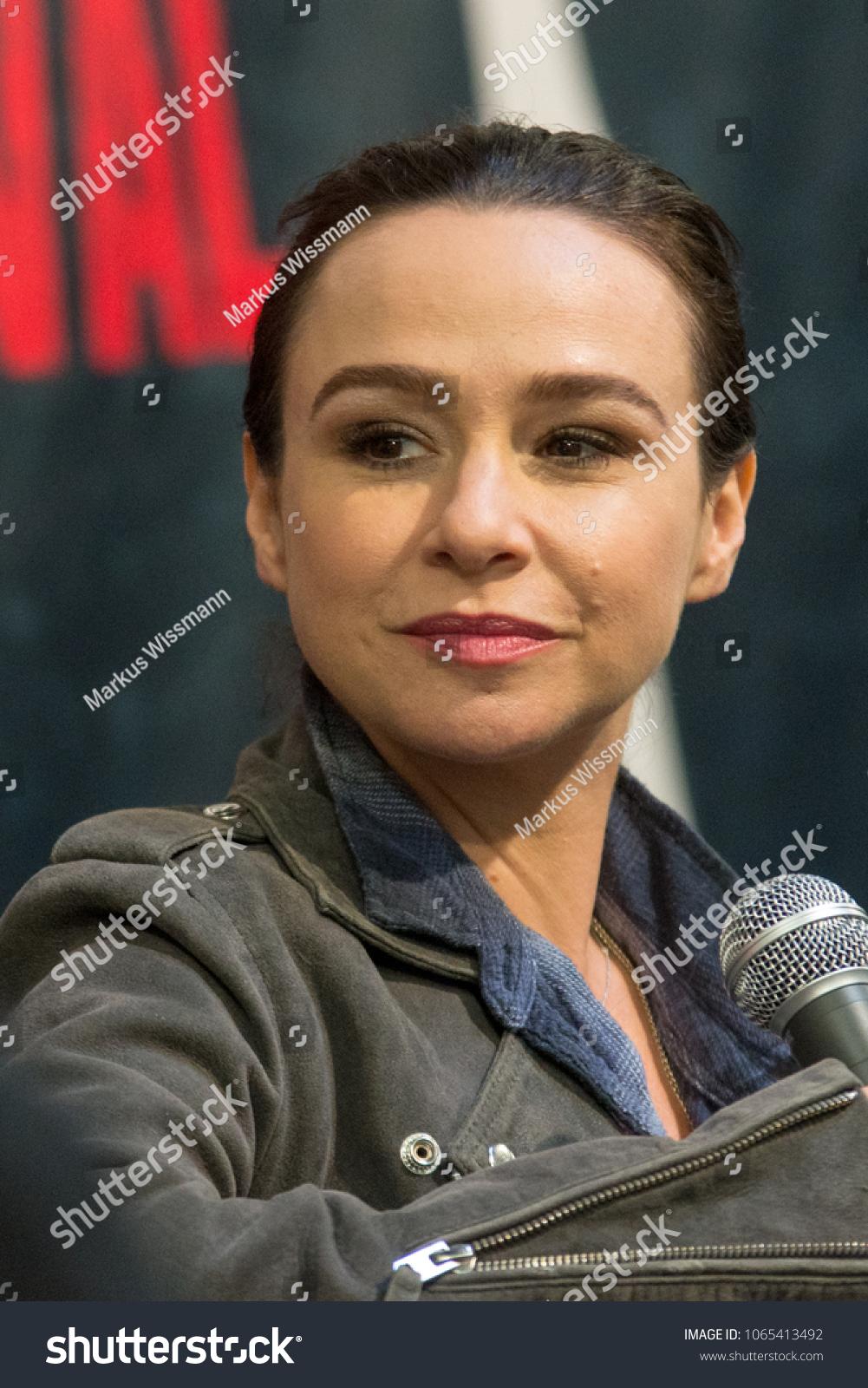 dortmund germany april 8 actress danielle stock photo (edit now